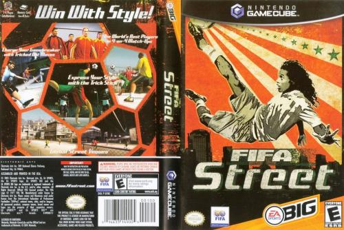 FIFA Street (Europe) (En,Fr,De) Cover - Click for full size image